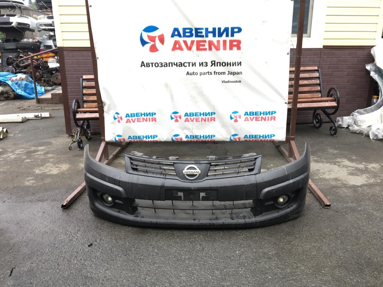 Бампер Nissan Ad VY12 передний