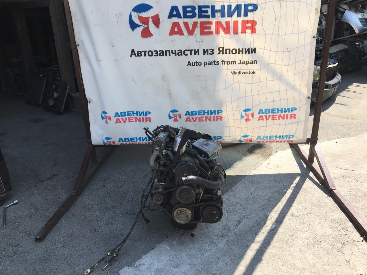Двигатель Daihatsu Mira L70V EB-DET