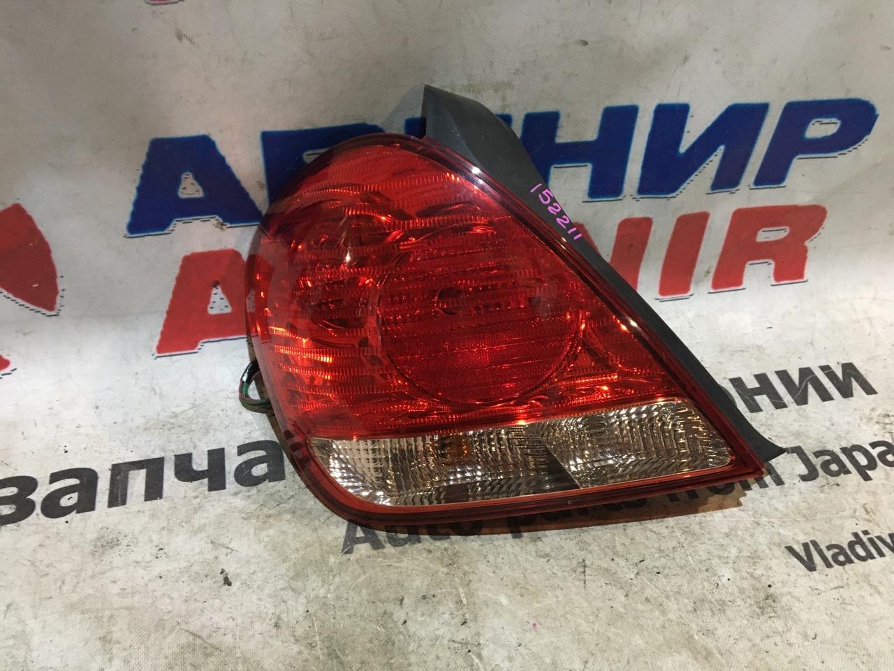 Стоп-сигнал Nissan Blueberd Sylphy QG10 задний левый