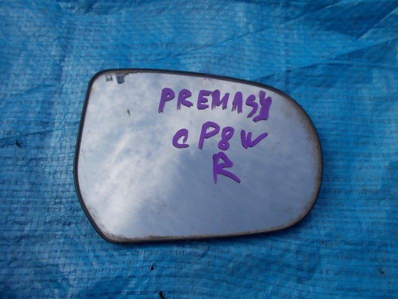 Зеркало-полотно Mazda Premacy CP8W переднее правое