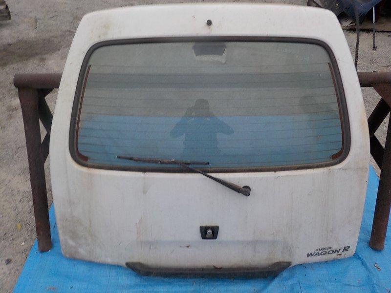 Дверь задняя Suzuki Wagon R CT21S F6A 1993 задняя