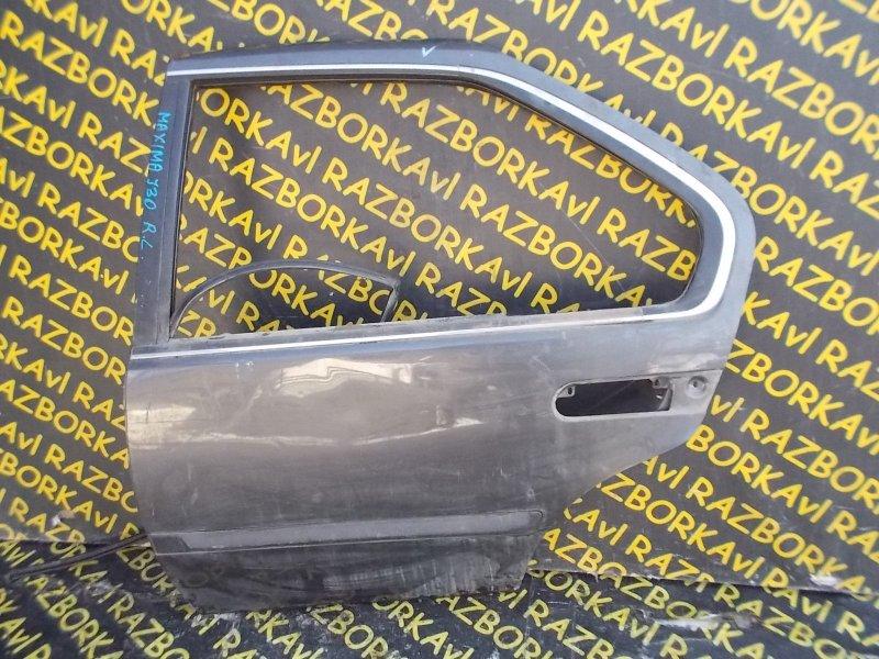 Дверь Nissan Maxima J30 задняя левая