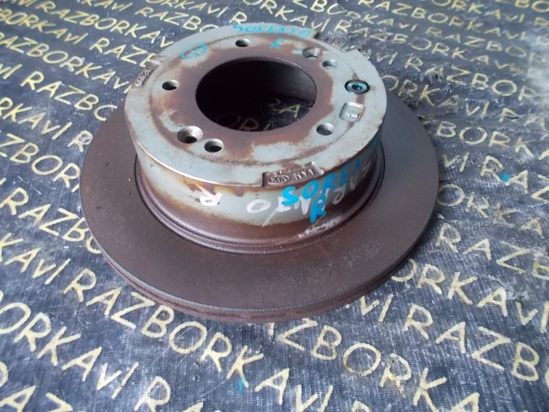 Тормозной диск Kia Sorento BL 2002 задний правый