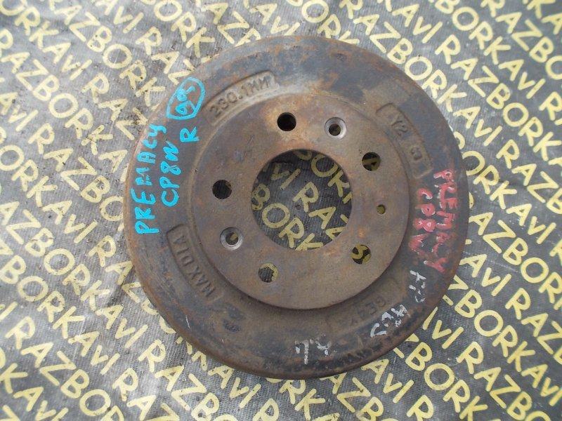 Тормозной барабан Mazda Premacy CP8W FPDE задний правый