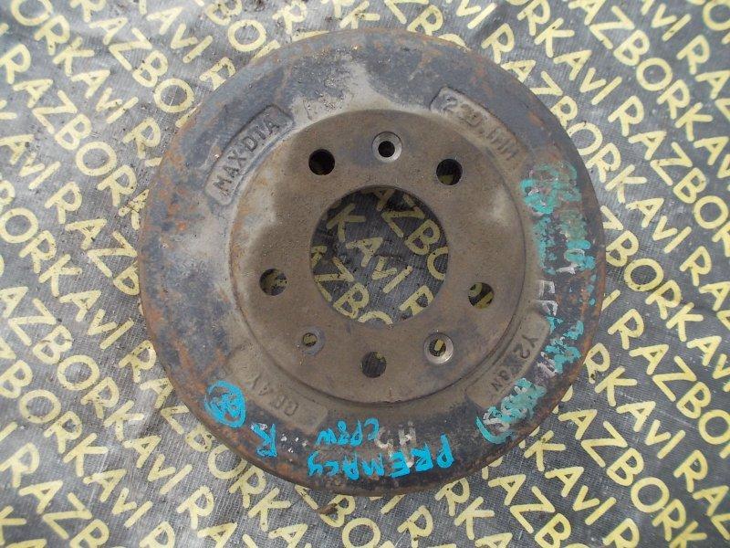 Тормозной барабан Mazda Premacy CP8W FPDE задний левый