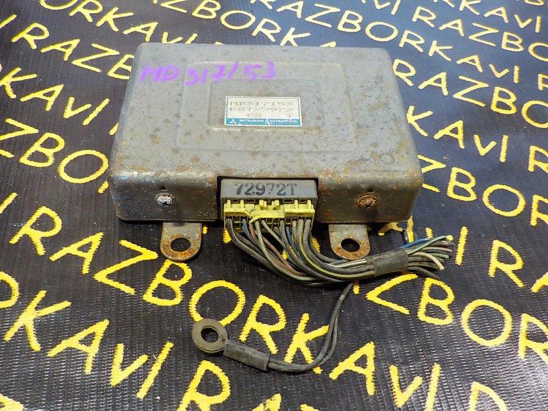 Блок управления efi Mitsubishi Libero CB8V 4D68