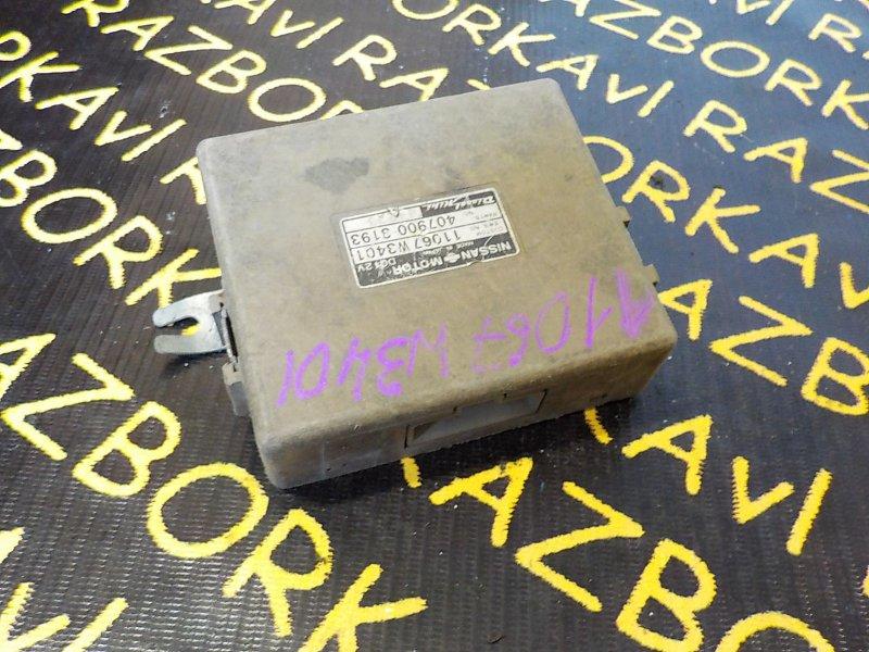 Блок управления св. накала Nissan Laurel EJC32 RD28