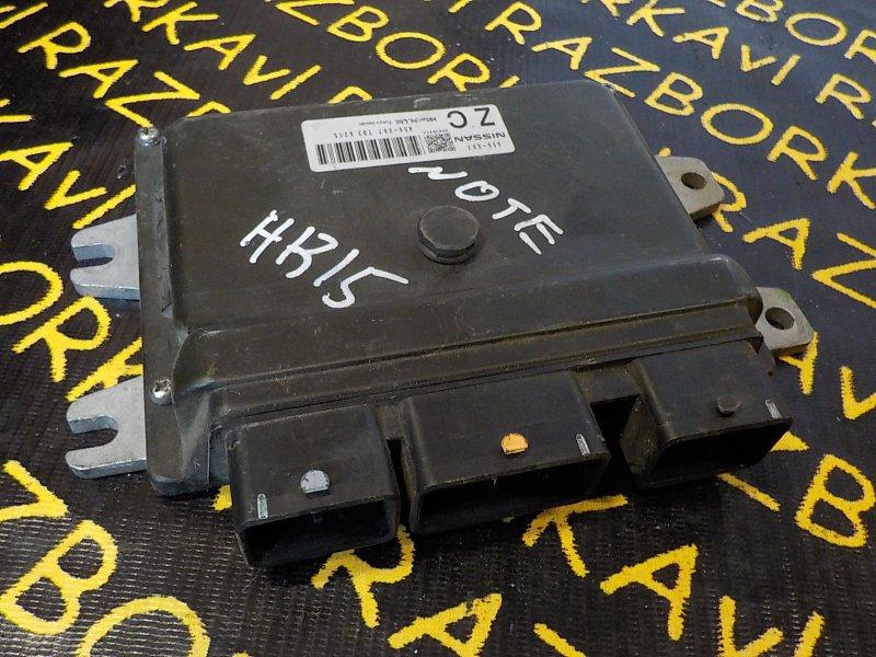 Блок управления efi Nissan Note E11 HR15DE