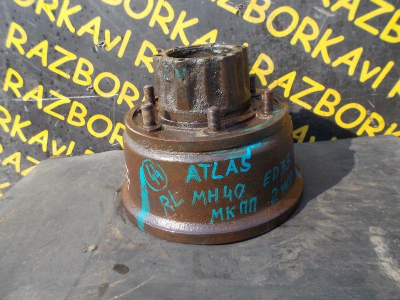 Тормозной барабан Nissan Atlas MH40 ED33 задний левый