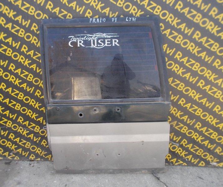 Дверь задняя Toyota Land Cruiser Prado HDJ78 задняя правая