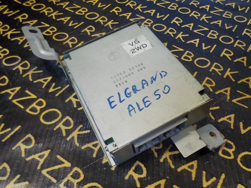 Электронный блок Nissan Elgrand ALE50 VG33E 1997