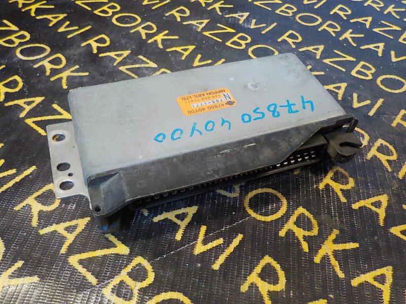 Блок управления abs Nissan Sunny FB14 GA15DE