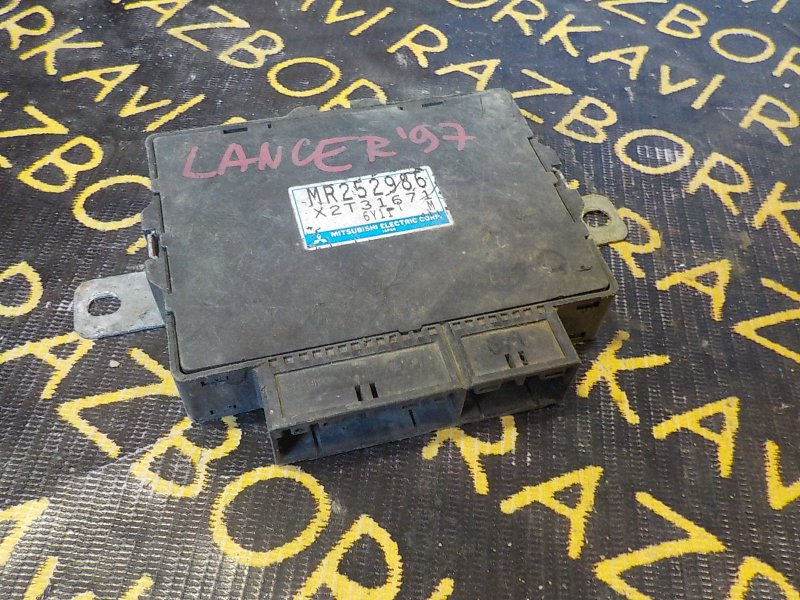 Блок управления abs Mitsubishi Lancer N84W 4D68