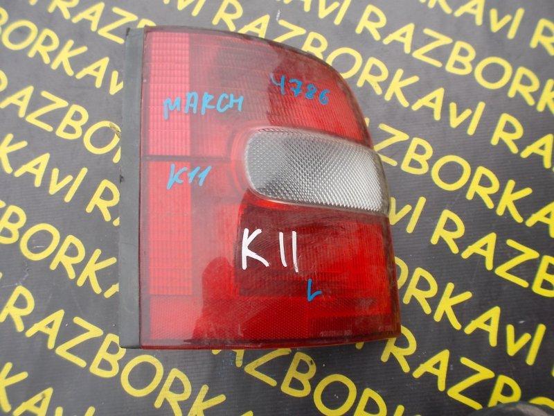 Стоп-сигнал Nissan March K11 задний левый