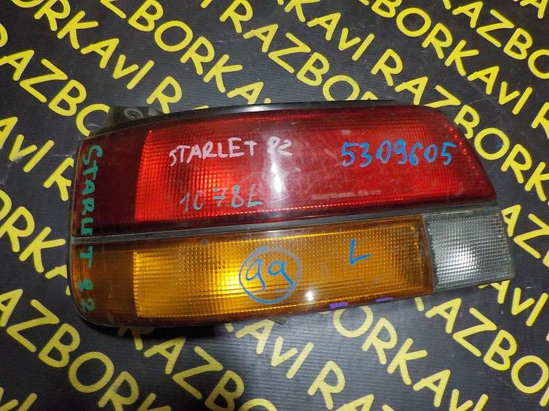 Стоп-сигнал Toyota Starlet EP82 задний левый