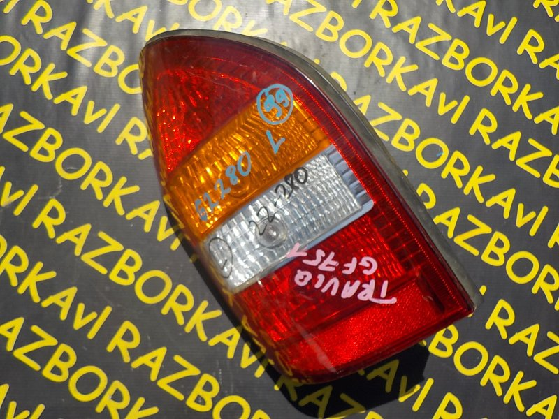Стоп-сигнал Subaru Traviq XM220 Z18 2001 задний левый