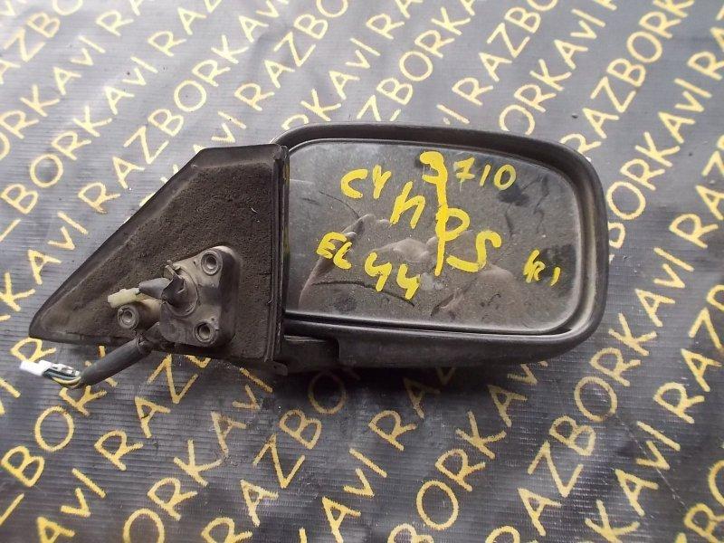Зеркало Toyota Cynos EL44 переднее правое