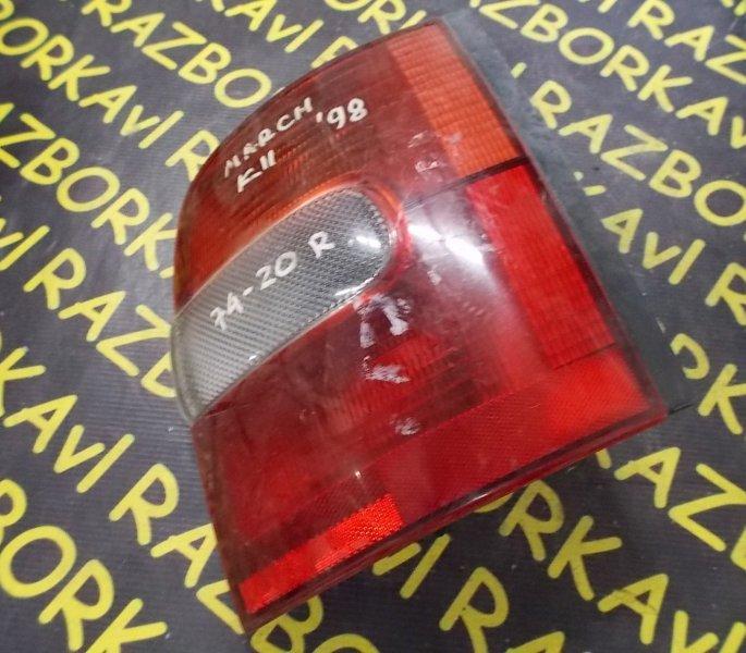Стоп-сигнал Nissan March ANK11 CGA3DE задний правый