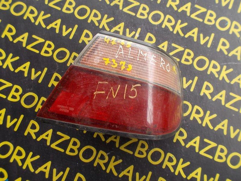 Стоп-сигнал Nissan Pulsar FN15 задний правый