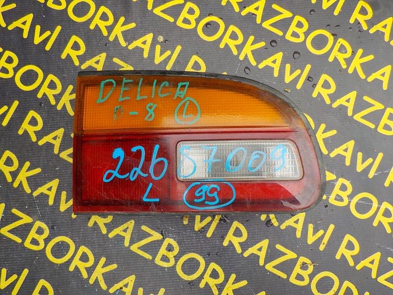 Стоп-вставка Mitsubishi Delica PD8W задняя левая