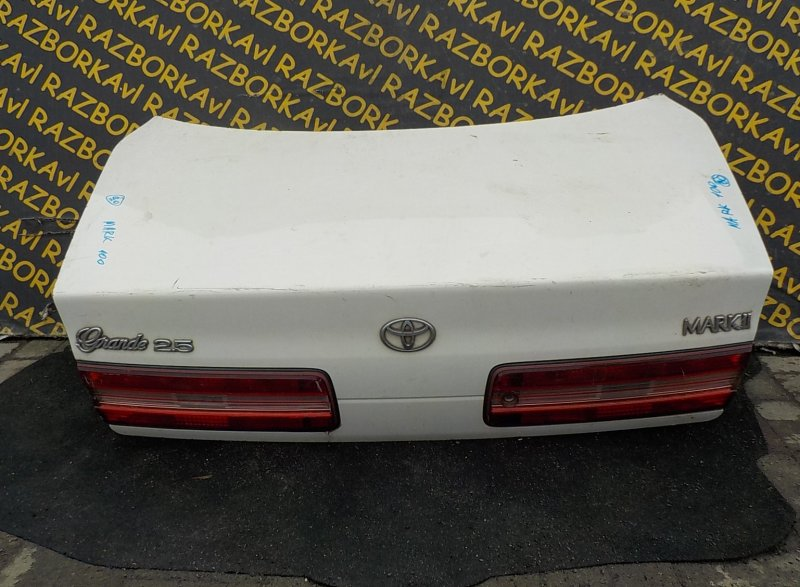 Крышка багажника Toyota Markii GX100 задняя