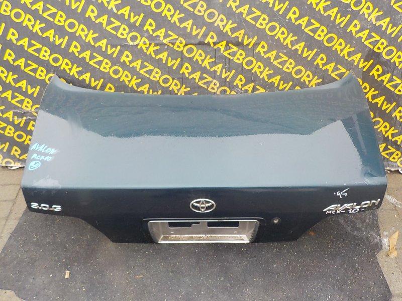 Крышка багажника Toyota Avalon MCX10 задняя