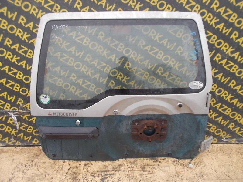 Дверь задняя Mitsubishi Pajero Mini H51A задняя