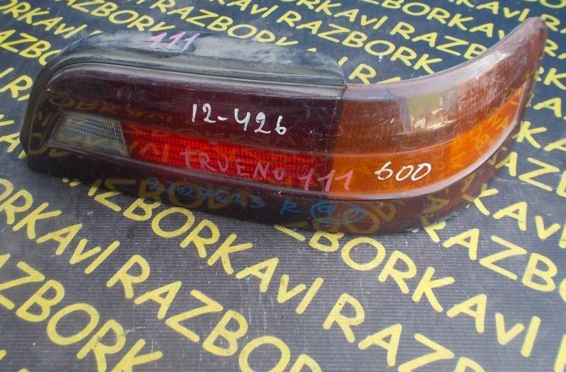Стоп-сигнал Toyota Sprinter Trueno AE111 задний правый
