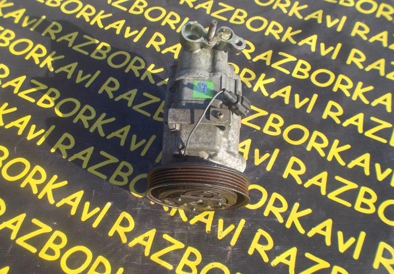 Компрессор кондиционера Nissan March AK12 CR12DE