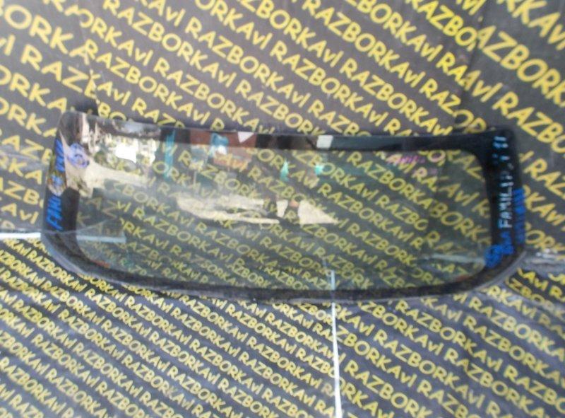 Стекло заднее Mazda Familia VFY11 QG13DE 1999 заднее