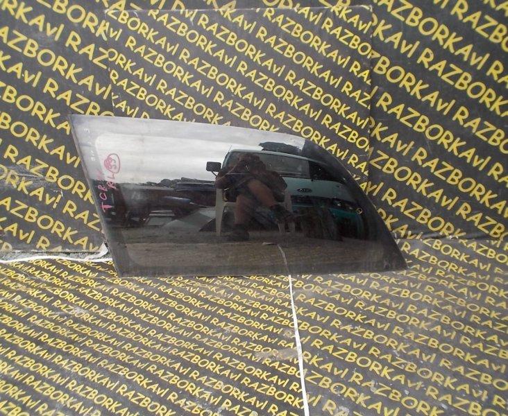 Стекло собачника Toyota Estima TCR11 заднее левое
