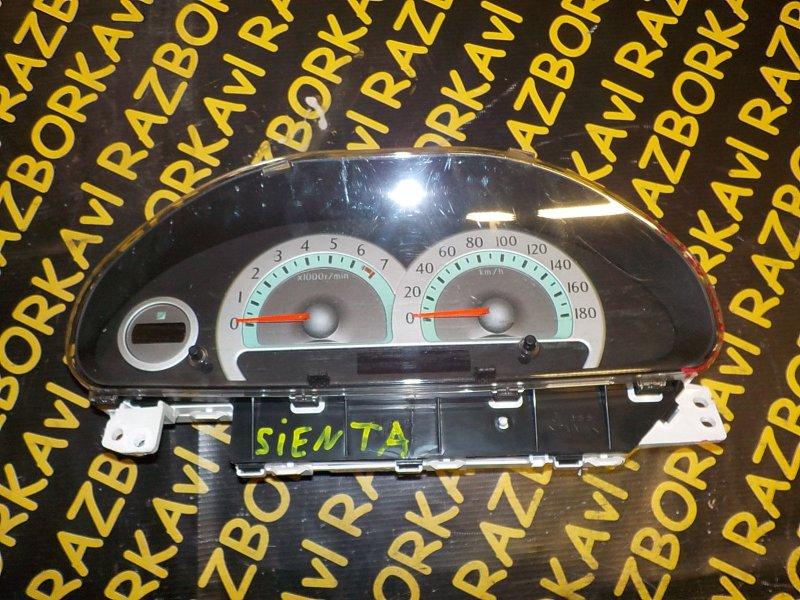 Спидометр Toyota Sienta NCP81 1NZFE