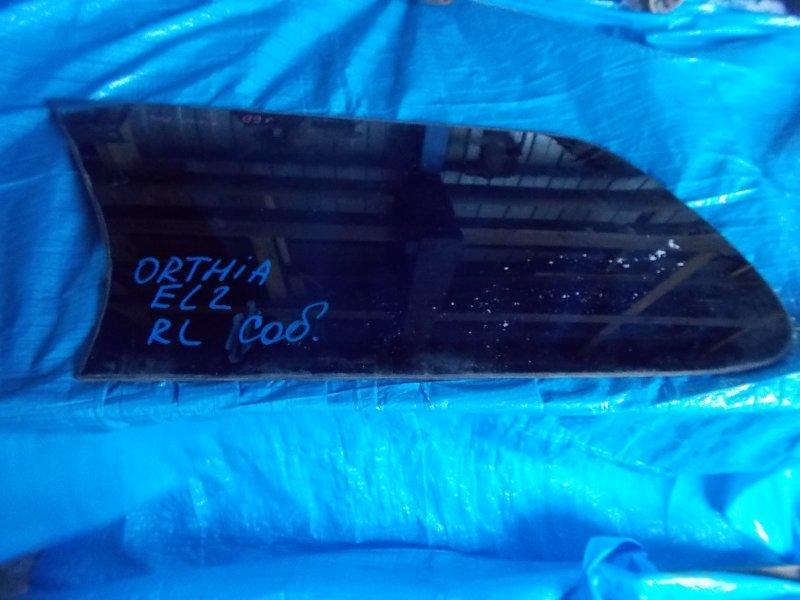 Стекло собачника Honda Orthia EL1 заднее левое