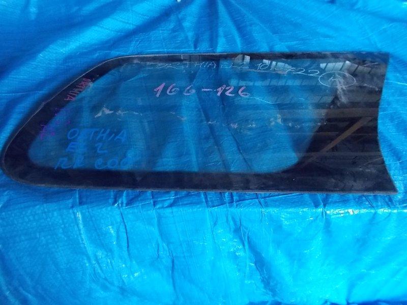 Стекло собачника Honda Orthia EL1 заднее правое