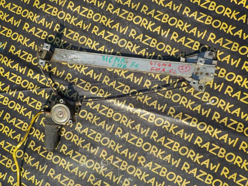 Стеклоподъемник Mitsubishi Sigma F11A 6G71 передний левый