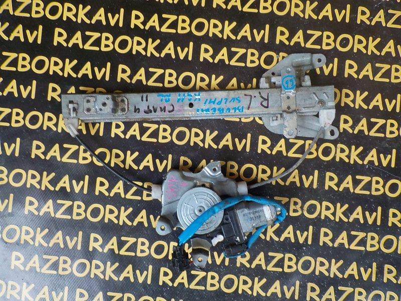 Стеклоподъемник Nissan Bluebird Sylphy KG11 задний левый