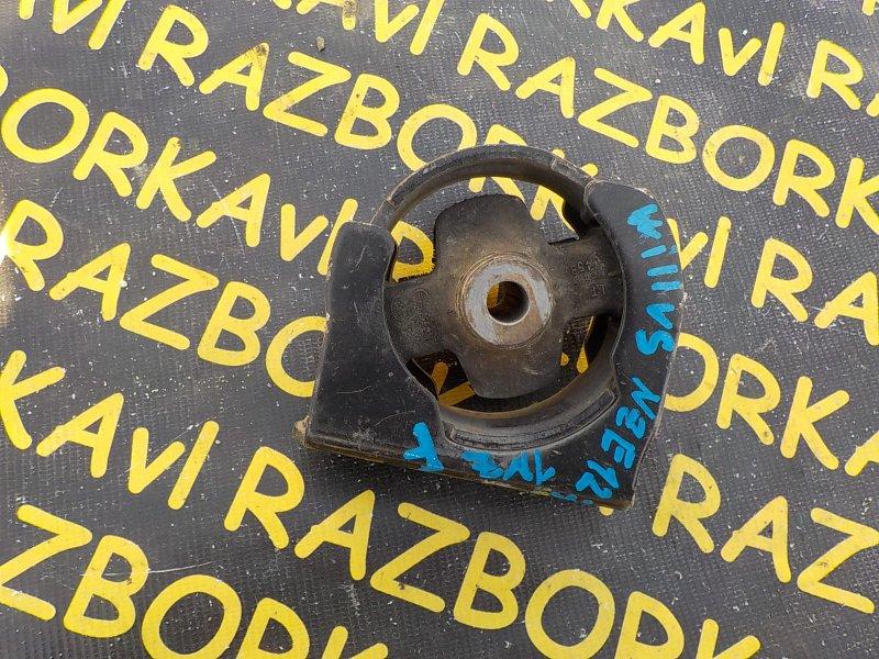 Подушка двигателя Toyota Will Vs NZE127 1NZFE 2001 передняя