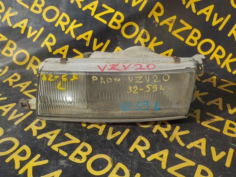 Фара Toyota Camry Prominent VZV20 передняя левая