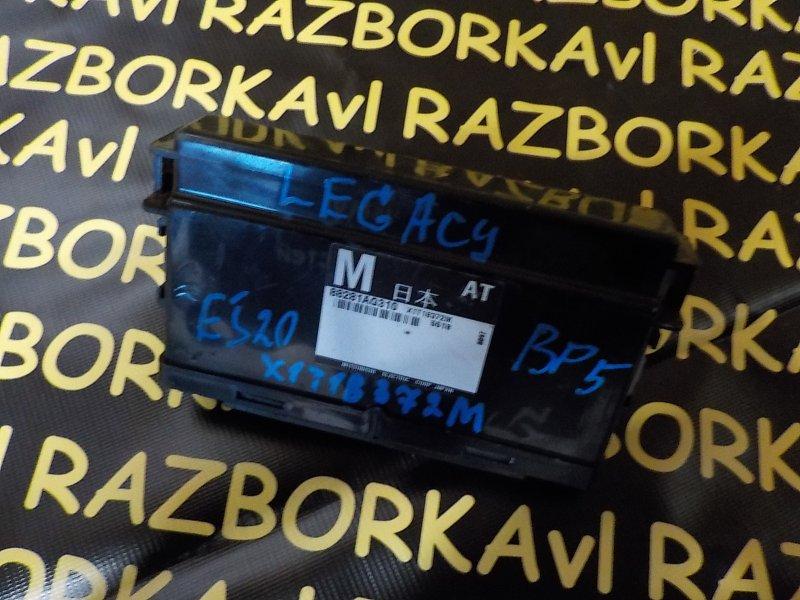 Блок управления рулевой колонкой Subaru Legacy BL5 EJ203 2005