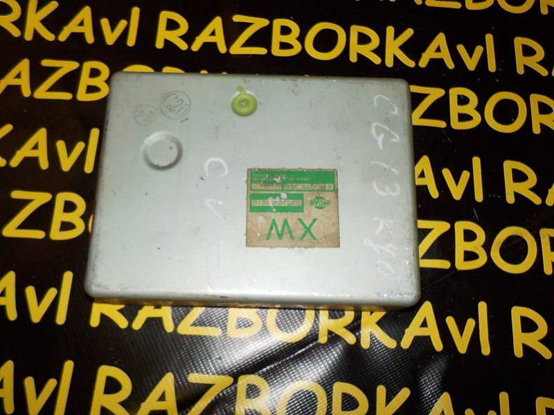 Блок управления efi Nissan Cube Z10 CG13DE 1998