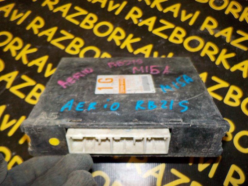 Блок управления efi Suzuki Aerio RB21S M15A 2001