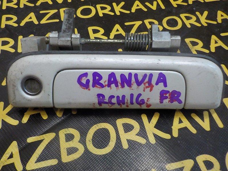Ручка двери внешняя Toyota Granvia VCH16W 3RZFE 1997 передняя правая