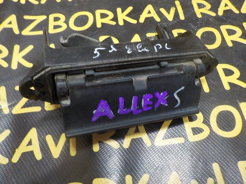 Ручка задней двери Toyota Allex ZZE123 1NZFE задняя