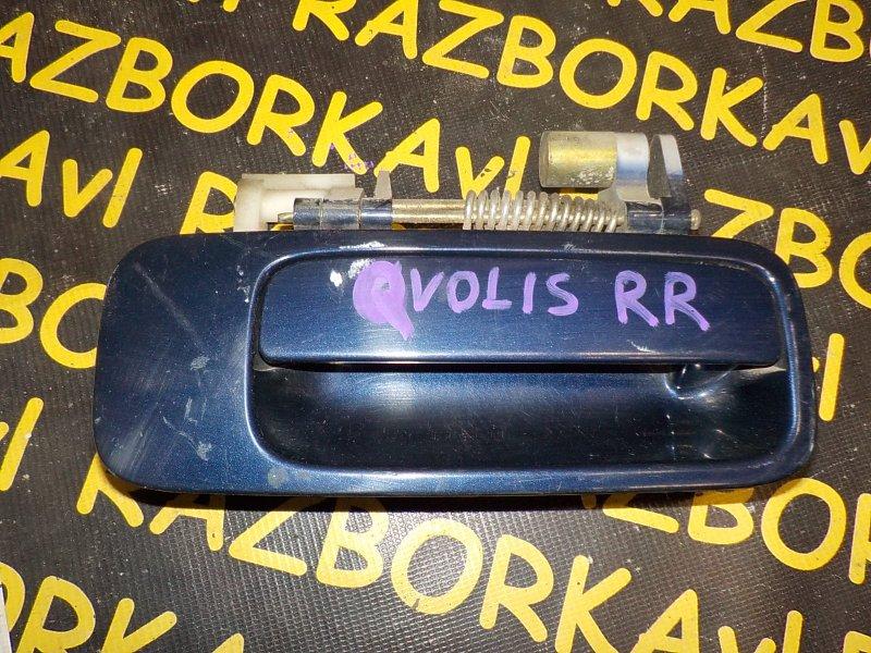 Ручка двери внешняя Toyota Camry Gracia SXV20 2MZFE 1996 задняя правая
