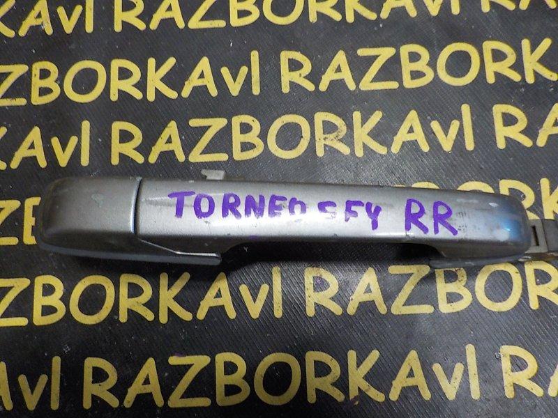 Ручка двери внешняя Honda Torneo CF3 F18B 1997 задняя правая
