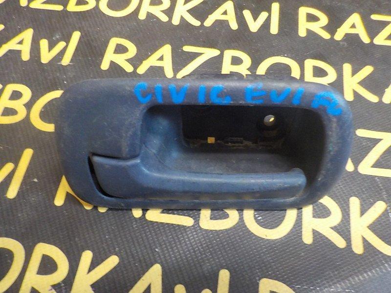 Ручка двери внутренняя Honda Civic EU1 передняя левая