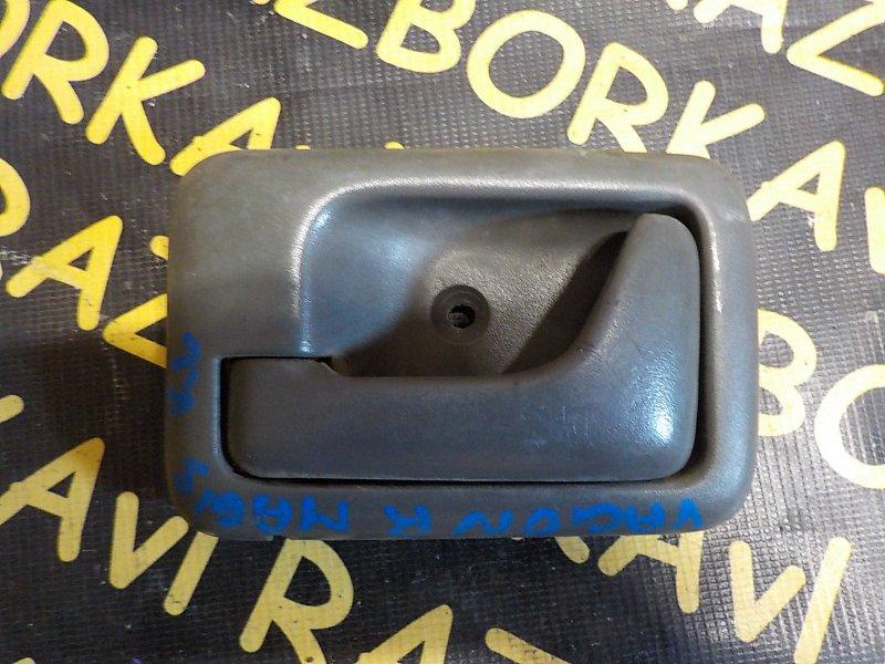 Ручка двери внутренняя Suzuki Wagon R Wide MA61S K10A 1997 задняя левая