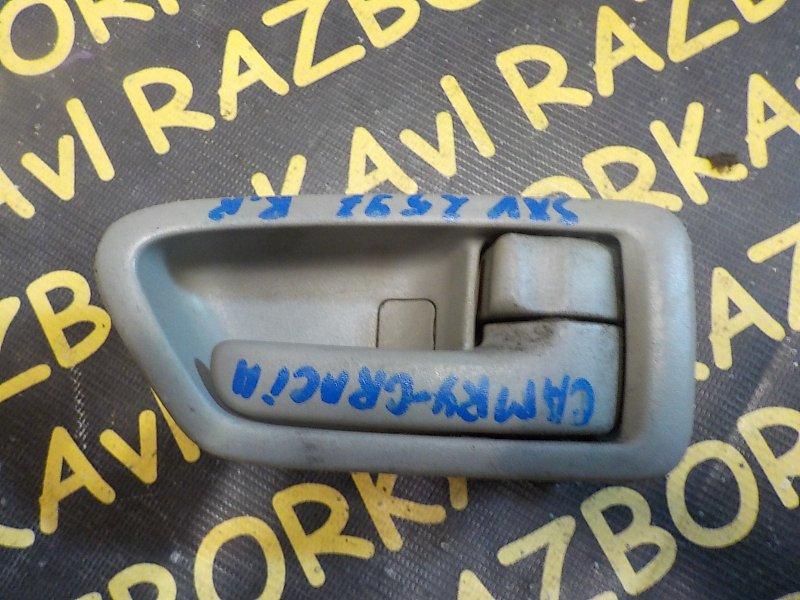 Ручка двери внутренняя Toyota Camry Gracia SXV25W 2MZFE 1996 задняя правая