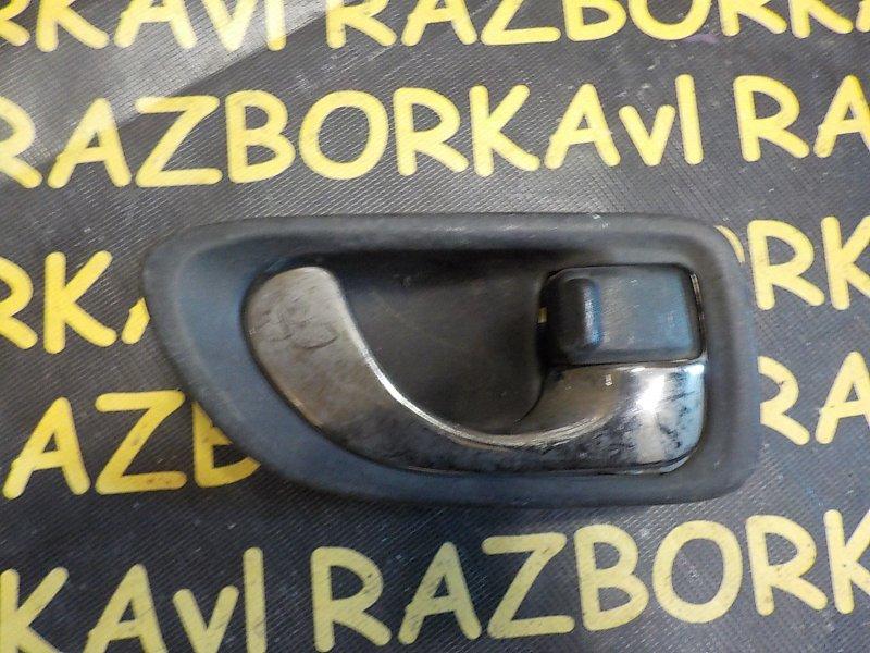 Ручка двери внутренняя Mitsubishi Legnum EA1W 4G64 задняя правая