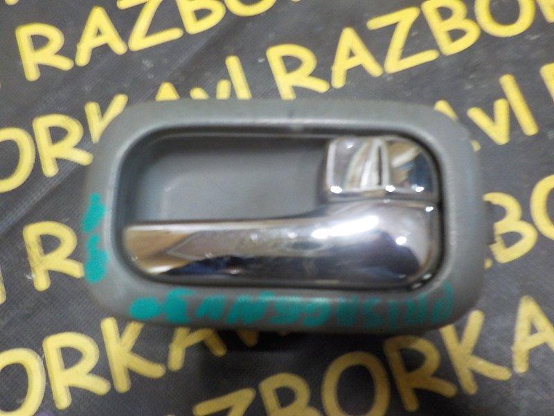 Ручка двери внутренняя Nissan Presage VNU30 VQ30DE 1998 задняя правая